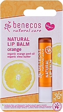 Düfte, Parfümerie und Kosmetik Natürlicher Lippenbalsam Orange - Benecos Natural Care Lip Balm Orange