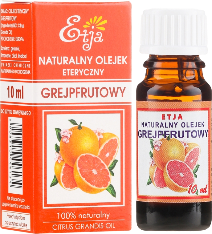 100% natürliches ätherisches Grapefruitöl - Etja Natural Essential Oil