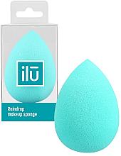 Düfte, Parfümerie und Kosmetik Schminkschwamm türkis - Ilu Sponge Raindrop Turquoise