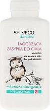 Düfte, Parfümerie und Kosmetik Hypoallergener beruhigender Kinderpuder - Sylveco Body Powder Hypoallergic