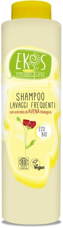 Tägliches Shampoo mit Bio Haferextrakt und Olivenöl - Ekos Personal Care Shampoo For Frequent Washing