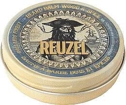 Düfte, Parfümerie und Kosmetik Pflegebalsam für Männerhaar mit Arganöl und Shea Butter - Reuzel Beard Balm Wood And Spice