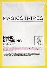 Düfte, Parfümerie und Kosmetik Feuchtigkeitsspendende und reparierende Handschuhe - Magicstripes Hand Repairing Gloves