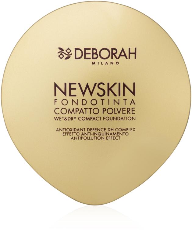 Puder-Foundation im Spiegeletui und Schutz vor Umweltverschmutzung - Deborah New Skin Compact Foundation — Bild N1