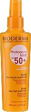 Düfte, Parfümerie und Kosmetik Sonnenschutzspray für Körper und Gesicht SPF 50+ - Bioderma Photoderm Photoderm Max Spray SPF 50+
