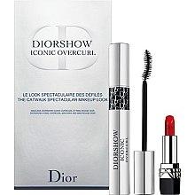 Düfte, Parfümerie und Kosmetik Christian Dior Diorshow Iconic Overcurl Gift Set - Schminkset (Wimperntusche 10ml+Lippenstift 1,5g)