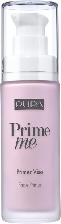 Gesichtsprimer zum Ausgleich von gelblichem Hautunterton - Pupa Prime Me Corrective Face Primer