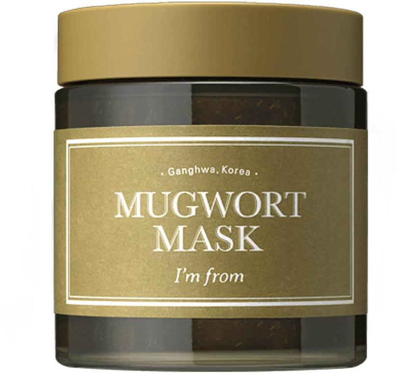 Beruhigende und kühlende Gesichtsmaske mit Beifuß-Extrakt - I'm From Mugwort Mask