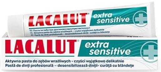Aktive Zahnpasta für sehr empfindliche Zähne - Lacalut  — Bild N1