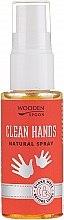 Düfte, Parfümerie und Kosmetik Antibakterielles Handspray - Wooden Spoon Clean Hands Natural Spray