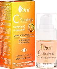 Düfte, Parfümerie und Kosmetik Augenkonturcreme mit Vitamin C - Ava Laboratorium C+ Strategy Smooth Skin Stimulator Eye Contour Cream