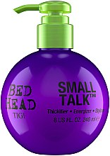 Düfte, Parfümerie und Kosmetik Pflegende Haarcreme für Volumen und Haarfülle - Tigi Bed Head Small Talk 3-in-1 Thickifier