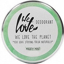 Düfte, Parfümerie und Kosmetik Deo-Creme mit Minze - We Love The Planet Mighty Mint Cream Deodorant