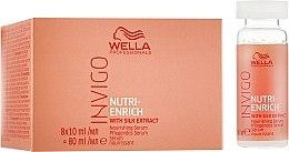 Düfte, Parfümerie und Kosmetik Pflegendes Haarserum mit Seidenextrakt - Wella Professionals Invigo Nutri-Enrich Nourishing Serum