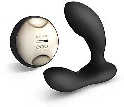 Düfte, Parfümerie und Kosmetik Prostata-Massagegerät mit Fernbedienung schwarz - Lelo Hugo Black