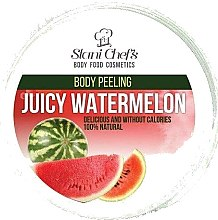 Düfte, Parfümerie und Kosmetik Schäumendes Körperpeeling Melone - Stani Chef's Juicy Watermelon Body Peeling