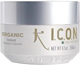 Düfte, Parfümerie und Kosmetik Bio-Haarmaske mit Aloe Vera, Vanille und Lavendel - I.C.O.N. Organic Treatment