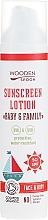 Düfte, Parfümerie und Kosmetik Bio-Sonnenschutzlotion für Gesicht und Körper SPF 50 - Wooden Spoon Organic Sunscreen Lotion Baby & Family SPF 50
