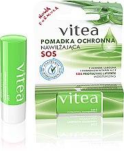 Düfte, Parfümerie und Kosmetik Feuchtigkeitsspendender und schützender Lippenbalsam mit Aloe Vera und Wollwachs - Vitea SOS Lipbalm