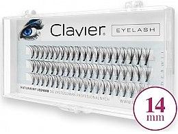 Düfte, Parfümerie und Kosmetik Wimpernbüschel 14 mm - Clavier Eyelash