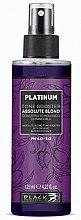 Düfte, Parfümerie und Kosmetik Pflegespray gegen Gelbstich für weißes, blondes oder gebleichtes Haar - Black Professional Line Platinum Tone Booster