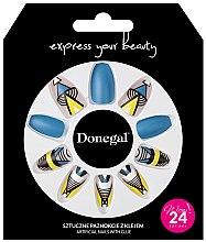 Düfte, Parfümerie und Kosmetik Set Künstliche Nägel mit Kleber 3051 - Donegal Express Your Beauty