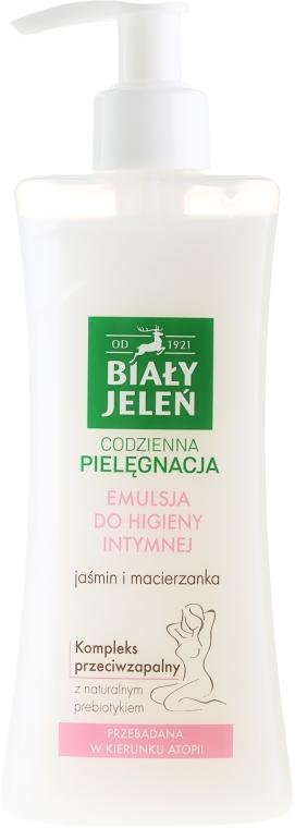 Hypoallergene Emulsion für die Intimhygiene mit Jasmin und Thymian - Bialy Jelen Hypoallergenic Emulsion For Intimate Hygiene