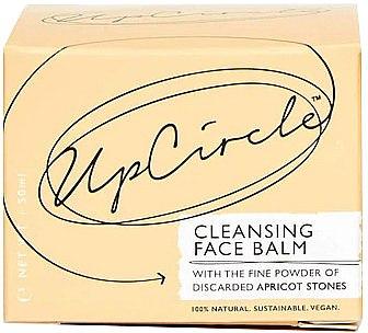 Gesichtsreinigungsbalsam mit Aprikosenpulver - UpCircle Cleansing Face Balm With Apricot Powder — Bild N2