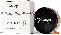 Düfte, Parfümerie und Kosmetik Mattierender Fixierpuder - Uoga Uoga Happy Ending Finishing Powder