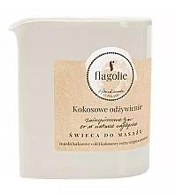 Düfte, Parfümerie und Kosmetik Massagekerze Coconut Nutrition - Flagolie Coconut Nutrition Massage Candle