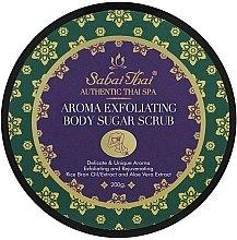 Düfte, Parfümerie und Kosmetik Zucker-Körperpeeling mit Reiskleieöl und Aloe Vera - Sabai Thai Rice Milk Aroma Exfoliating Body Sugar Scrub