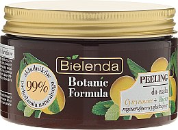 Düfte, Parfümerie und Kosmetik Körperpeeling mit Zitronenbaum- und Minzextrakt - Bielenda Botanic Formula Lemon Tree Extract + Mint Body Scrub