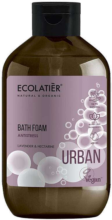 Anti-Stress Badeschaum mit Lavendel und Nektarine - Ecolatier Urban Bath Foam