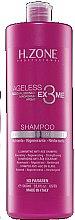 Düfte, Parfümerie und Kosmetik Regenerierendes Pflegeshampoo mit Hyaluronsäure, Macadamia- und Arganöl - H.Zone Ageless Ex3me Anti-Age Illuminante Shampoo
