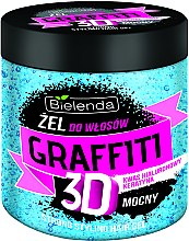 Düfte, Parfümerie und Kosmetik Haargel - Bielenda GRAFFITI 3D Strong Stayling Hair Gel