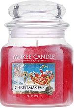 Düfte, Parfümerie und Kosmetik Duftkerze im Glas Christmas Eve - Yankee Candle Christmas Eve Jar