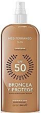 Düfte, Parfümerie und Kosmetik Wasserfeste Sonnenschutzlotion SPF 50 - Mediterraneo Sun Suntan Lotion SPF50