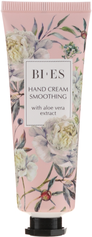 Glättende Handcreme mit Aloe Vera-Extrakt - Bi-es Smoothing Hand Cream With Aloe Vera Extract