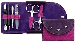 Düfte, Parfümerie und Kosmetik Maniküre-Set 6-tlg. violett - DuKaS Premium Line PL 216FR