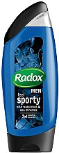 Düfte, Parfümerie und Kosmetik 2in1 Shampoo und Duschgel mit Wasserminze und Meeresmineralien - Radox Men Feel Sporty 2in1 Shower Gel