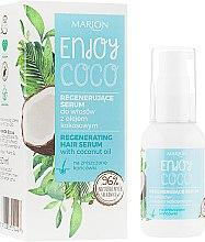 Düfte, Parfümerie und Kosmetik Regenerierendes Haarserum mit Kokosöl - Marion Enjoy Coco Serum