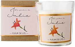 Düfte, Parfümerie und Kosmetik Duftkerze Lilie - Ambientair Le Jardin de Julie Fleur de Lys