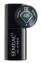 Düfte, Parfümerie und Kosmetik Nagellack - Semilac UV Hybrid Cat Eye