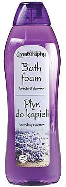Badeschaum mit Lavendel und Aloe Vera - Bluxcosmetics Naturaphy Lavender & Aloe Vera Bath Foam