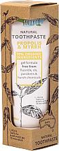 Düfte, Parfümerie und Kosmetik Natürliche Zahnpasta mit Propolis und Myrte - The Natural Family Co Propolis & Myyrh Toothpaste