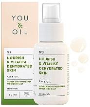Düfte, Parfümerie und Kosmetik Nährendes und vitalisierendes Gesichtsöl für trockene Haut - You & Oil Nourish & Vitalise Dehydrated Skin Face Oil