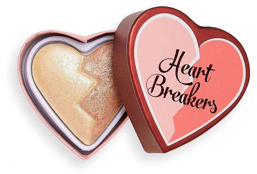 Puder-Highlighter - I Heart Revolution Heart Breakers Powder Highlighter