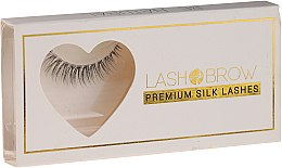 Düfte, Parfümerie und Kosmetik Künstliche Wimpern - Lash Brown Premium Silk Lashes Be Natural