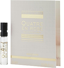 Düfte, Parfümerie und Kosmetik Boucheron Quatre En Rose Eau de Parfum Florale - Eau de Parfum (Tester)
