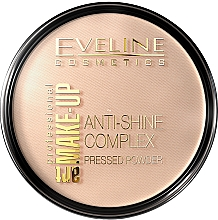Düfte, Parfümerie und Kosmetik Kompaktpuder - Eveline Cosmetics Anti-Shine Complex